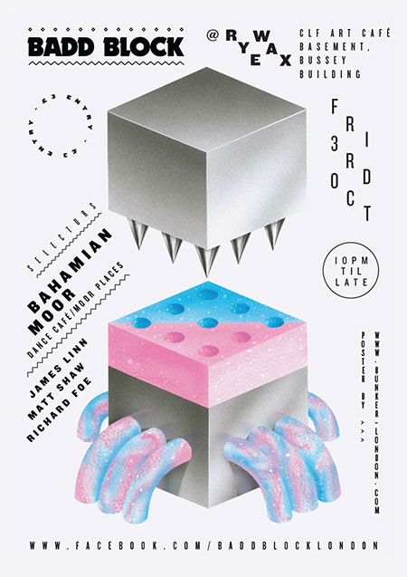 Badd-Block-Machine-1-Richard-Grainger-poster